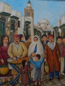 لوحة للفنان عز الدين البراريلوحة للفنان عز الدين البراري