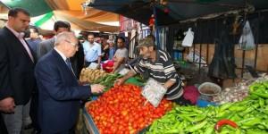 السبسي يزور سوق باب الفلة