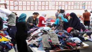 سوق الملابس المستعملة في تونس