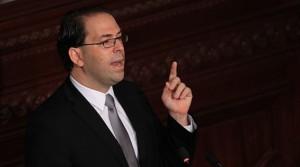 يوسف الشاهد رئيس حكومة الائتلاف الوطني